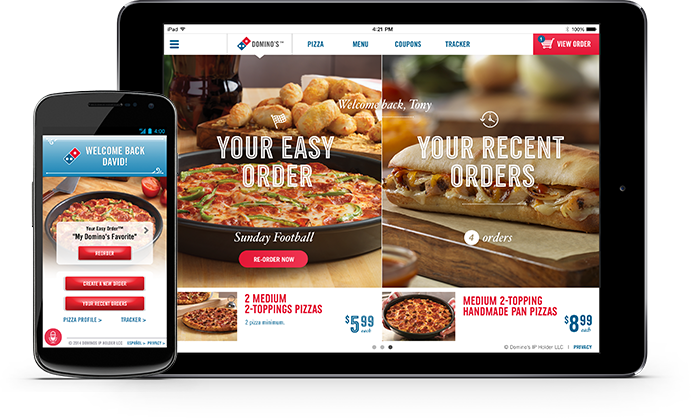 Image result for domino pizza anyware